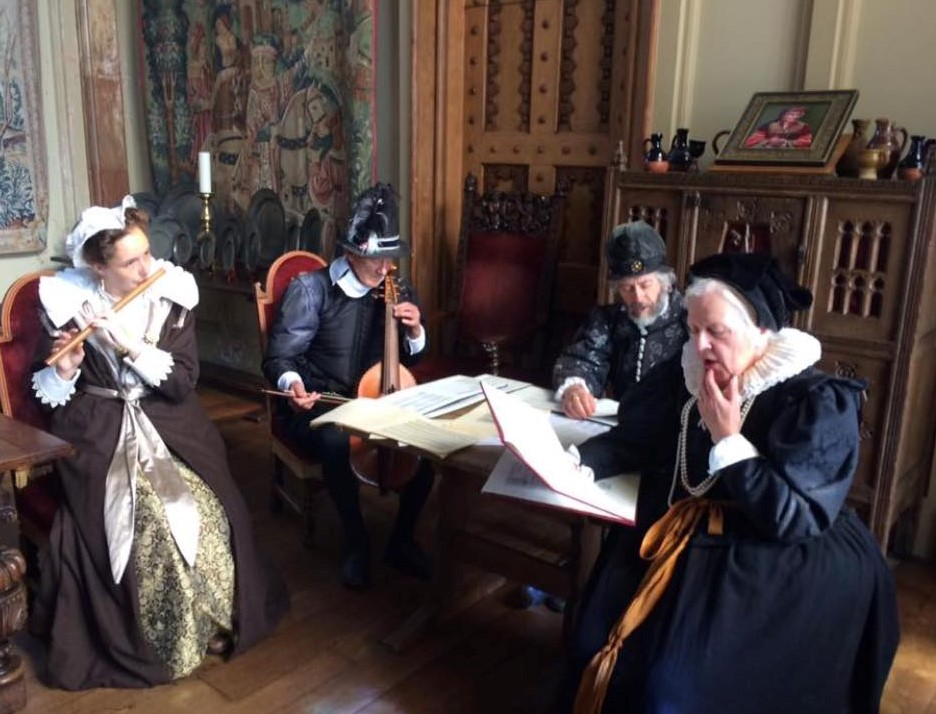 Playing Music at Kentwell in 1600/2017