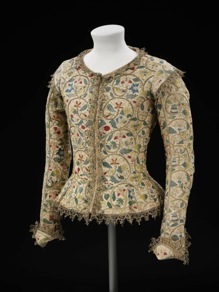 Margaret Layton Jacket, 1610-1615 (altered 1620), V&A Museum