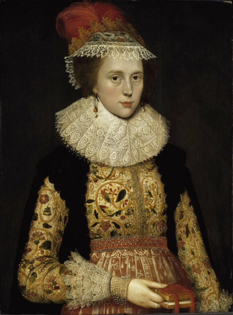 Margaret Layton Portrait, c. 1620, Marcus Gheeraerts the Younger
