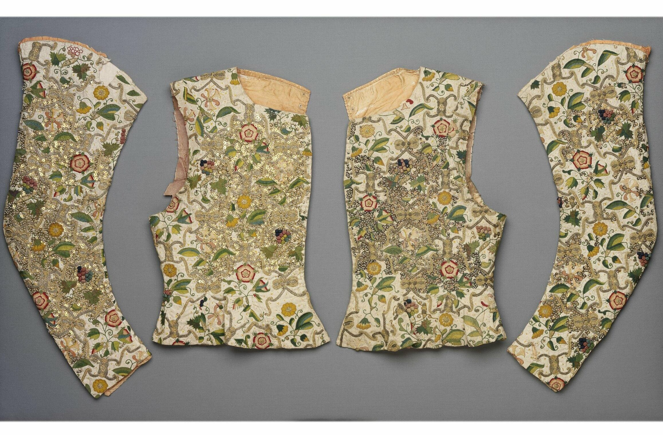 Waistcoat, 1600-1620, altered 1620s, V&A Museum